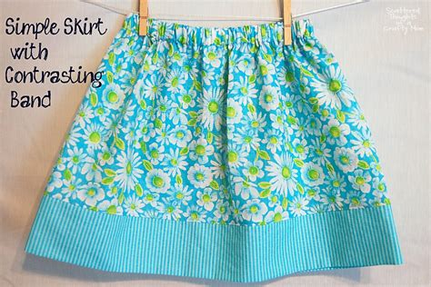 pattern for a simple skirt simple skirt tutorial with options for 3 different looks