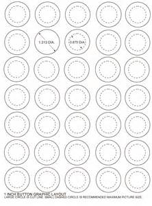 1 Inch Circle Template Free by Free Button Templates Gallery For Gt Pin Button