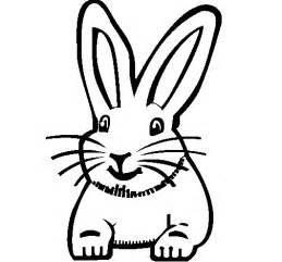 conejo cabeza colouring pages