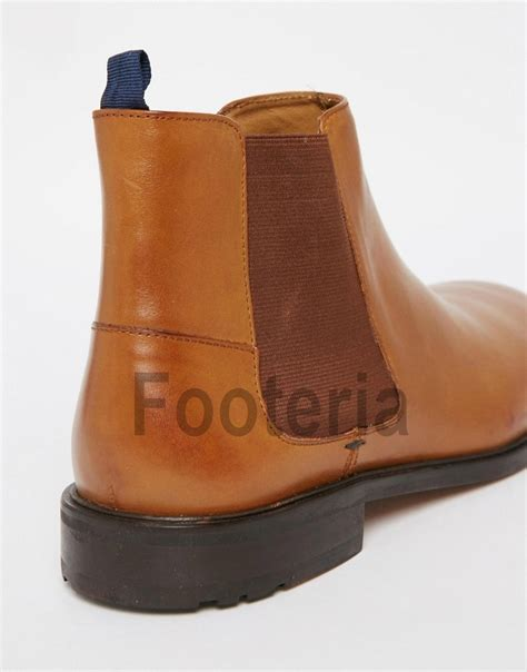 Handcrafted Leather Boots - handmade leather boots chelsea boot for