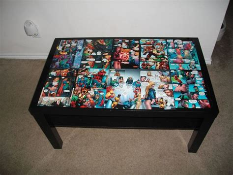 comic book coffee table 23 more awesome cave ideas diy ready