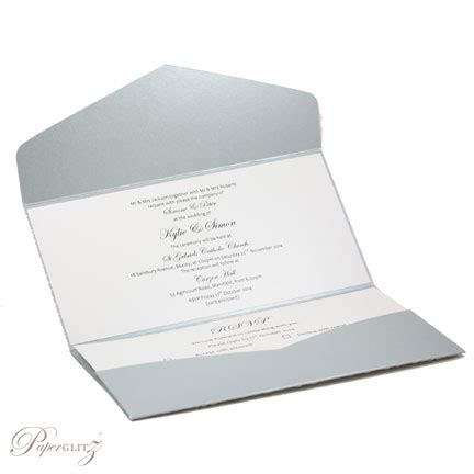 dl wedding invitations template wedding invitations dl pouch pocket fold dl pouch pocket fold metallicsteele silver with