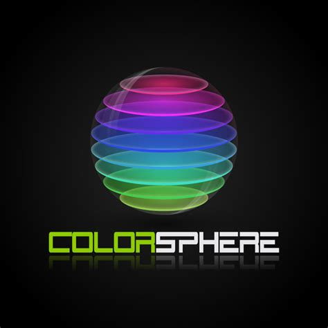 design logo adobe photoshop quick tip create a colorful sliced sphere to use as a
