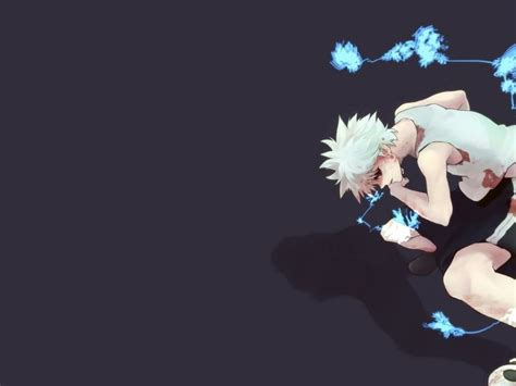 hunter x hunter wallpaper for laptop hunter x hunter killua hd wallpaper hunter x hunter