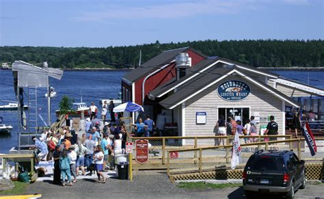 Top Restaurants In Bar Harbor Maine by Dining In Harpswell Maine Restaurants And Lobster Pounds