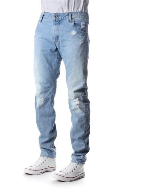 Via Guess Ripped Jacket Light Bahan g arc 3d s slim wisk denim jean light aged
