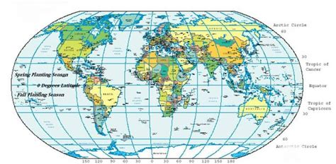 World Location World Map Lat Town Country Gardening
