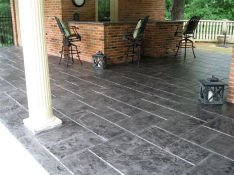 How To Refinish A Concrete Patio by Bullion Coatings Houston Concrete Patio Gallery
