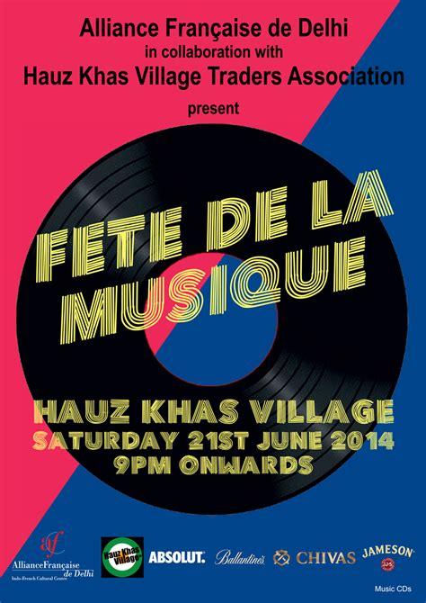 fete de la musique  hauz khas village  musical feast alliance francaise de delhi