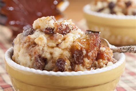 Breakfast Bar Ideas For Kitchen Old Fashioned Bread Pudding Mrfood Com