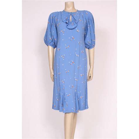 day dresses cornflower blue late 1920 s day dress