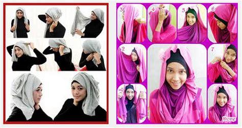 Cara Memakai Jilbab Segi Empat Elzatta Tutorial Cara Memakai Trend Model Jilbab Elzatta Segi