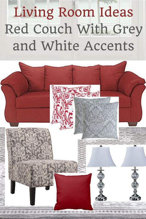 red and grey sofa red couch living room ideas peenmedia com