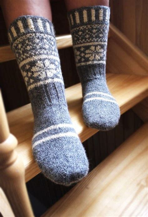 wool steel blue snowflake socks pictures   images  facebook tumblr pinterest