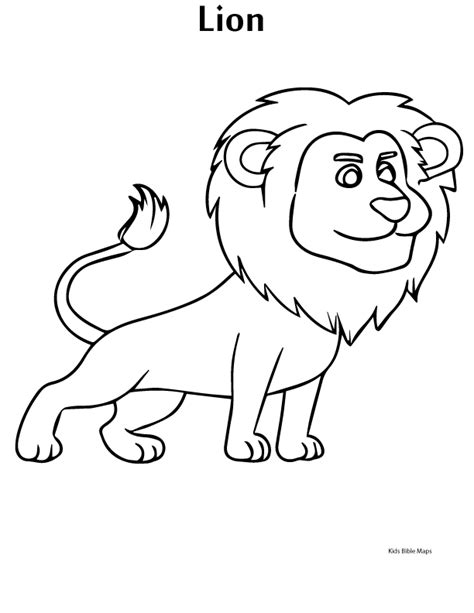 bible coloring pages lion and lamb lion of judah free coloring pages