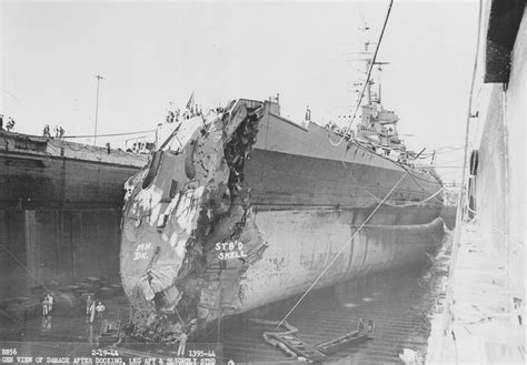 boat salvage yard south dakota bow damage to the uss washington after a collision with