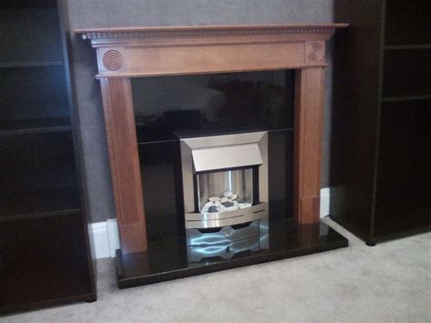 B Q Fireplaces Sale by Woodthorpe Oak Veneer Mdf Surround Wooden Fireplace