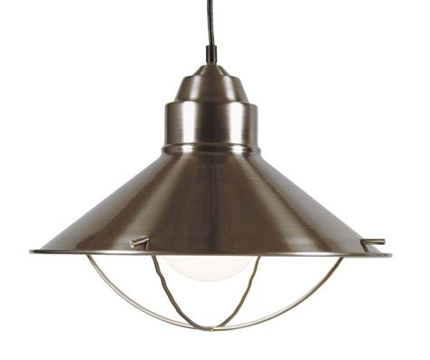 kenroy home 66349bs brushed steel harbour 1 light