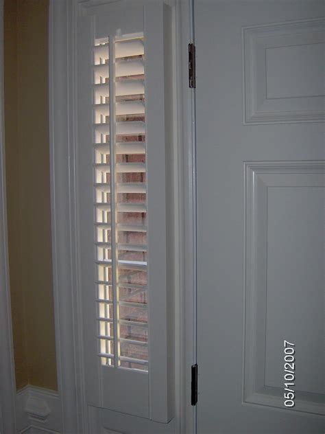 front curtain shutter sidelight window curtains blackout sidelight door