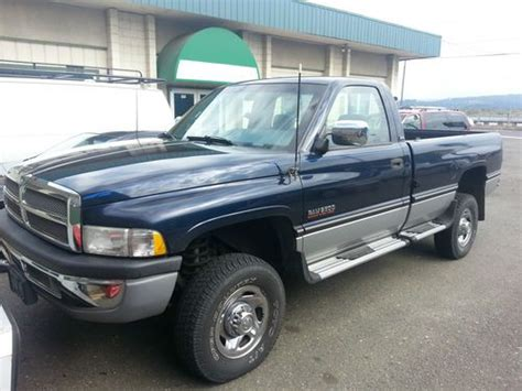 how can i learn about cars 1994 dodge ram wagon b350 seat position control find used 1994 dodge 4x4 cummins rare only 47 700 original miles in lakeside oregon united states