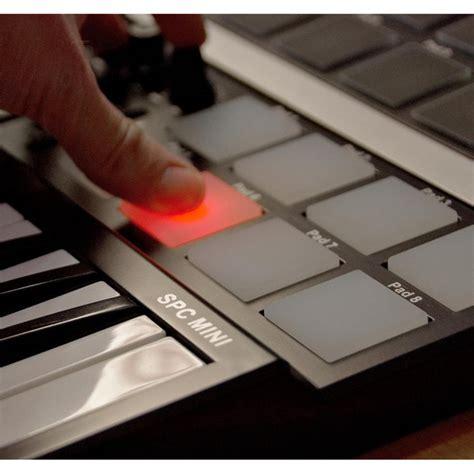 Keyboard Komputer Spc subzero spc mini key and pad midi controller at gear4music