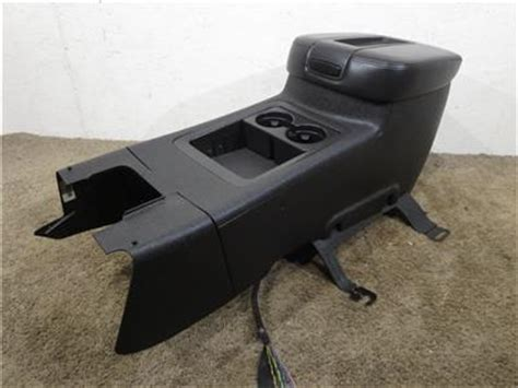 replacement gm oem tahoe silverado center console 2007