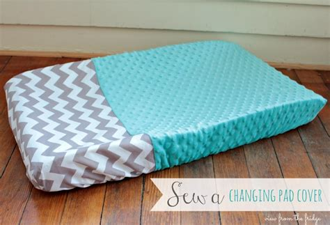 Sew A Changing Pad Cover View From The Fridgeview From How To Make A Changing Table Pad