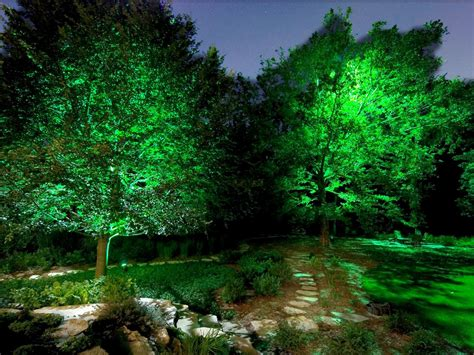 Landscape Tree Lights 22 Landscape Lighting Ideas Diy Electrical Wiring How Tos Light Fixtures Ceiling Fans
