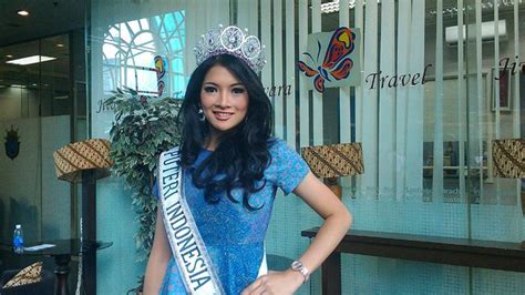 Kaos Palu Palu Visit 2015 akhirnya putri indonesia 2015 tanggapi foto selfie pakai