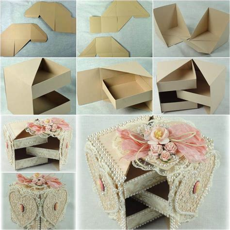 diy beautiful gift box with hidden drawers box gift and