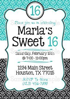 16 free printable party invitations poppytalk 1000 images about sweet 16 ideas on pinterest