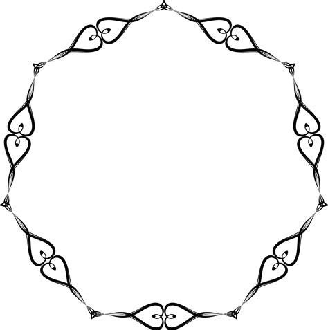 Wedding Border Hearts by Free Clipart Jpg Png Eps Ai Svg Cdr