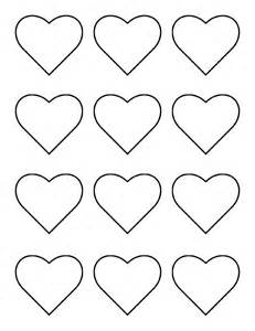 hearts template 17 best images about macaron templates on
