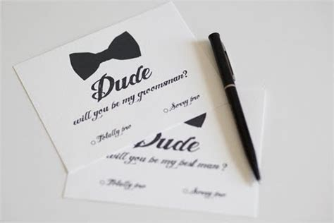free groomsman card template style sensibility free template will you be my groomsman
