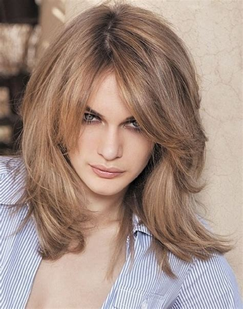medium length tapered or layered hairstyles for 50 shoulder length layered hairstyles medium length