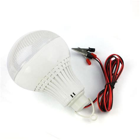 12v led light bulb 12v to 85v 7 watt ultra wide low voltage range led