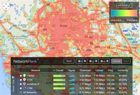 gestori mobili verificare copertura segnale operatori mobili