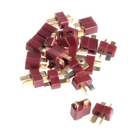 New T Connector Dean Style 1 Pairs 10 pairs t deans connectors style for rc lipo battery new b116 in parts