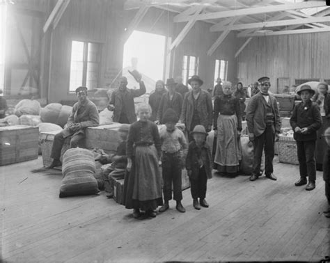after unloading immigrants at locust point