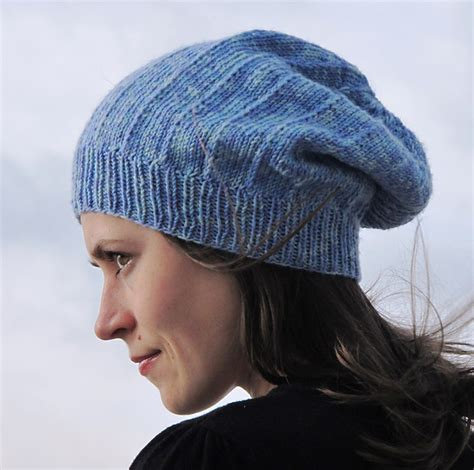 knitting pattern slouchy hat slouchy hat knitting patterns in the loop knitting