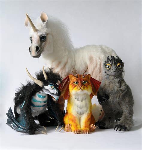 dolls animals poseable dolls by fellkunst on deviantart