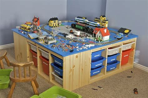 ikea lego table hack lego train table ikea hack yes for the future