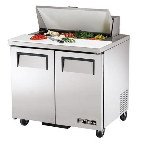 service supplies tssu 36 08 sandwich salad unit true food service equipment