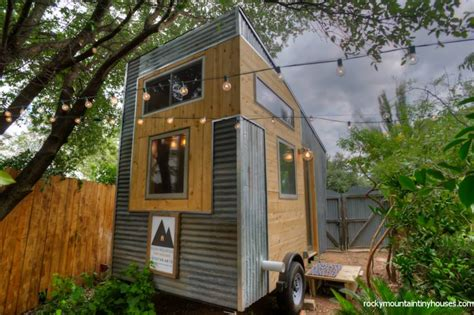 tiny house for two new rustic dwelling from rocky mountain tiny houses