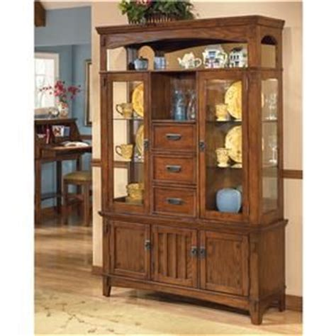 ashley furniture china cabinet ashley furniture cross island lighted buffet and hutch
