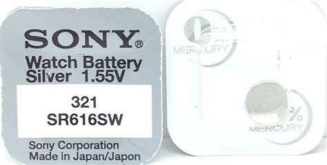 Sony Sr616sw 321 Battery Baterai 5 Pcs sony 321 sr616sw v321 321 sr616sw battery