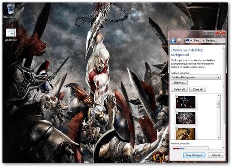themes of god s grandeur god of war windows 7 theme download