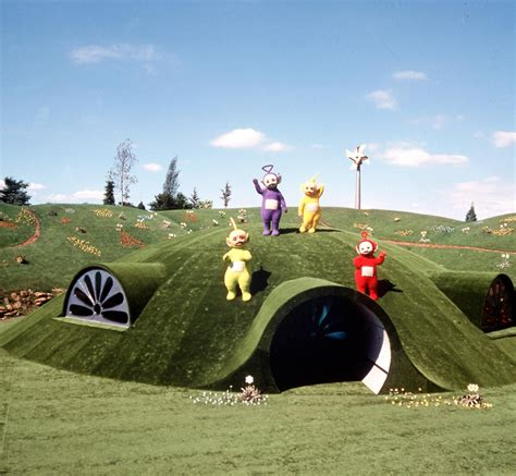 teletubbies house teletubbies say uh oh farmer rosemary harding floods dipsy laa laa tinky winky and
