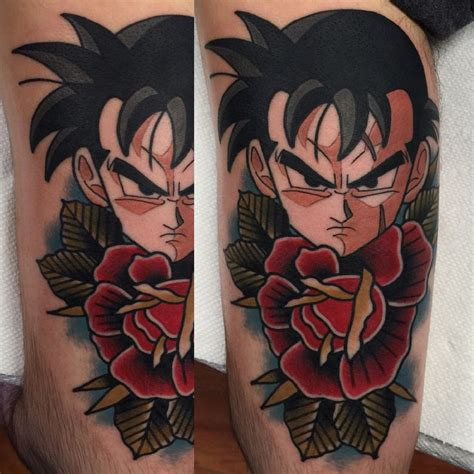 gohan tattoo on point ideas featuring shenron shenlong onpoint