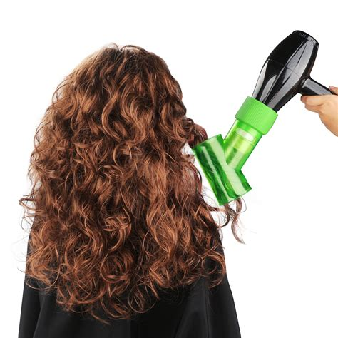 Hair Dryer Diffuser On Hair segbeauty wind spin hair dryer diffuser for curly wavy